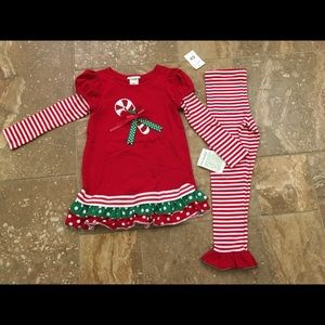 Girls Christmas set size 6X